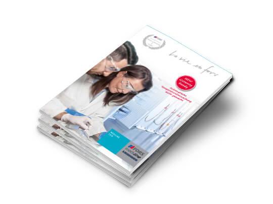 Bild Titelseite Katalog Mediline 2019