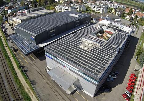FORS Solaranlage Dach