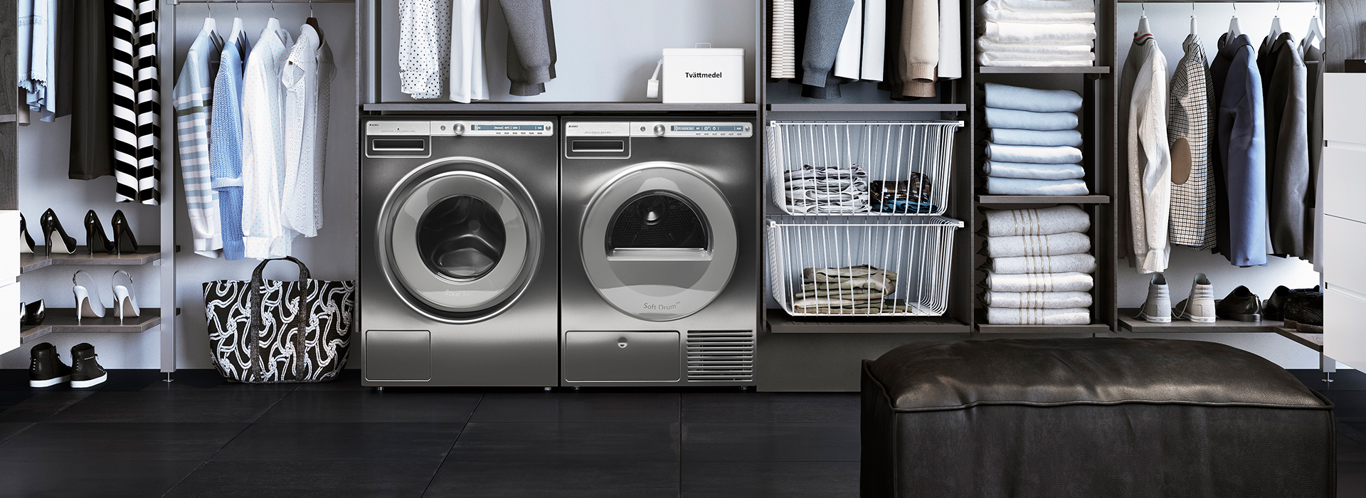 ASKO Bild Waschmaschinen Kleider