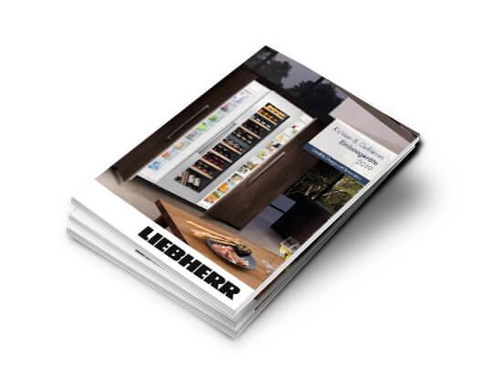 Titelseite Katalog Liebherr Einbaugeräte