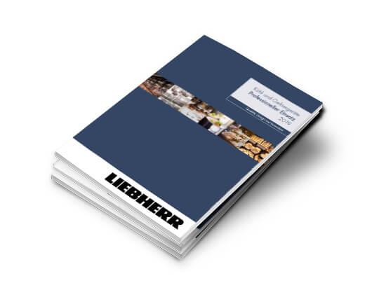 Titelseite Katalog Liebherr Gewerbe