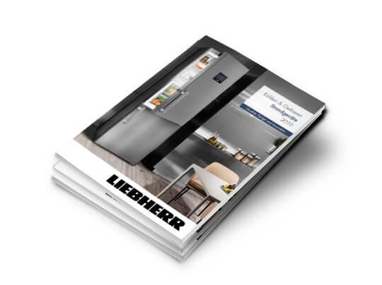 Titelseite Katalog Liebherr Standgeräte