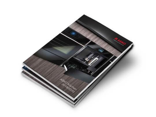 Titelbild Asko Kuechen Brochure
