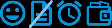 Foto icons E-Rechnung
