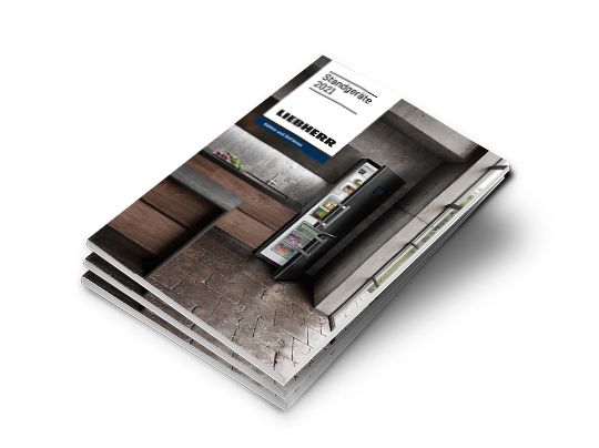 Liebherr Katalog Standgeräte 2021