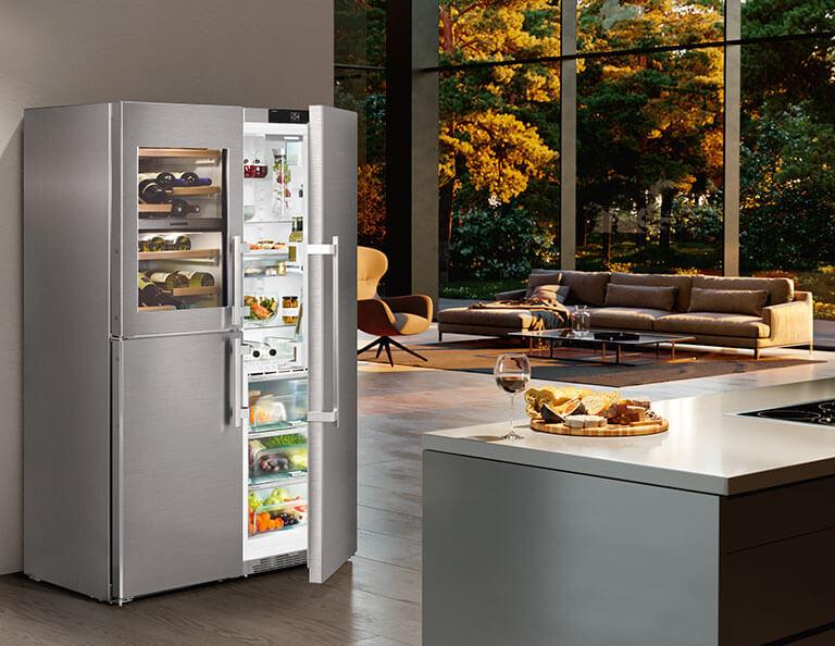 Liebherr combiné réfrigérateur-congélateur sidebyside article