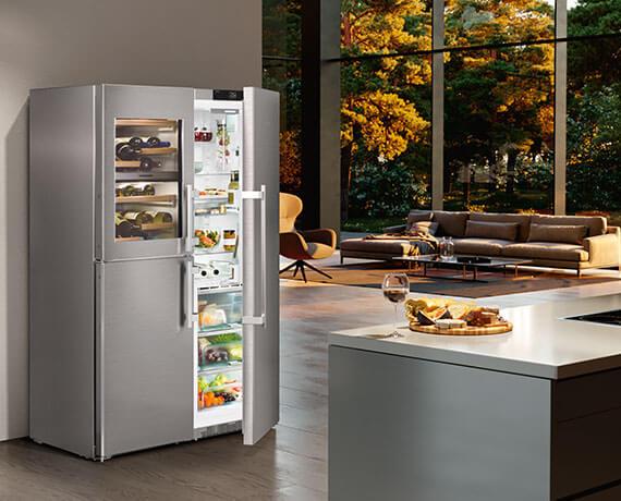 Liebherr combiné réfrigérateur-congélateur sidebyside