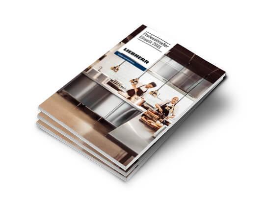 Liebherr Katalog Professioneller Einsatz 2021