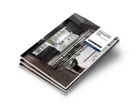 Liebherr Katalog Einbaugeräte 2021