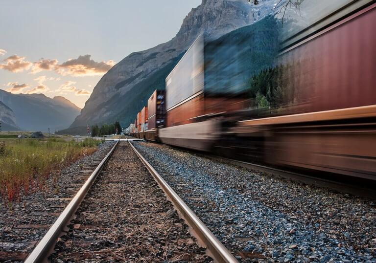FORS nachhaltiger Bahntransport
