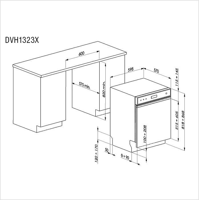 lave vaisselle de dietrich norme euro fors sa. Black Bedroom Furniture Sets. Home Design Ideas