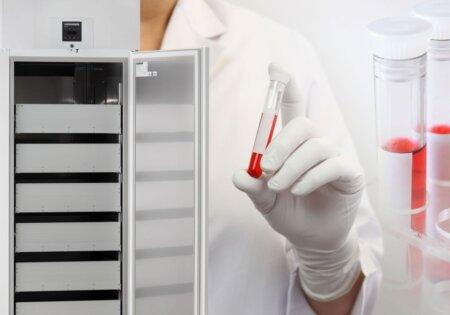 Blutkonserven-Kühlschränke nach DIN 58371