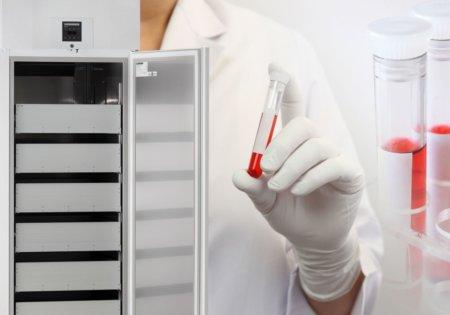 Réfrigérateurs à sang selon DIN 58371